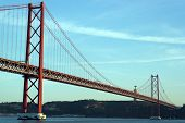 25Th April Bridge, Lisbon, Portugal