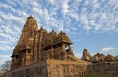 Kandariya Mahadeva Temple, Western Temples Of Khajuraho, India - UNESCO world heritage site.