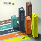foto of cube  - modern vector abstract 3d cube infographic elements - JPG
