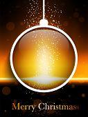 Merry Christmas Ball Laser Neon