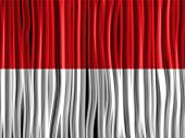 Monaco Flag Wave Fabric Texture Background