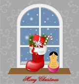 Elegant Christmas Decorative Background