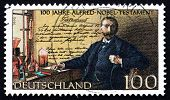 Postage Stamp Germany 1995 Alfred Nobel