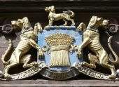 Coat Of Arms, Chester, Uk