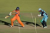 BLOEMFONTEIN, SOUTH AFRICA - DECEMBER 22: Action during a one-day cricket match between the Eagles a