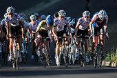 BLOEMFONTEIN, SOUTH AFRICA - NOVEMBER 7: Unidentified cyclists during the annual OFM Classic cycle r