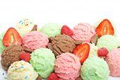Bolas de sorvete
