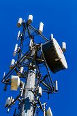 High-Tech Sophisticated Electronic Communications Tower