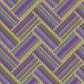 Multicolored Seamless Spring Knitted Pattern