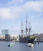 Voc Ship In Amsterdam