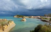 Sideri, Corfu, Greece, at the onset of a ferocious Autumn storm