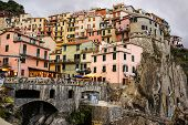 Colorful Houses Of Manarola Cinque Terre