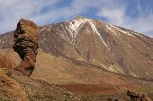 Tenerife, Canary Islands, Spain - Volcano Teide National Park. Mount Teide