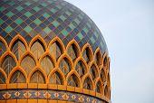Dome of Sulatan Abdul Samad Mosque (KLIA Mosque)