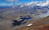 View of Ruapehu from Tongariro National Park, New Zealand
