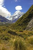 Mount Cook / Aoraki, Mount Cook National Park, South Island New Zealand