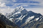 Mount Cook /Aoraki in Mount Cook National Park, New Zealand