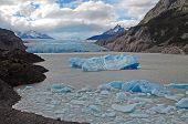 Icebergs and Glacier terminus, Patagonia, Argentina