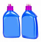 Blue Plastic Bottles For Liquid Soap