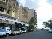 Quelimane, Mozambique - 7 December 2008: City Street.