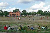 Quelimane, Mozambique - 7 December 2008: Football Match.