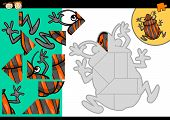 Cartoon Shield Bug Jigsaw Puzzle Game