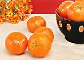 Healthy, Organic Orange Clementines