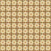 Floral Vintage Pattern Background