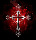Gothic Silver Cross