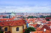 Prague view from Hradcanske namesti