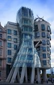 Dancing house at Prague, Czech republic