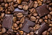 Chocolate And Coffee Background