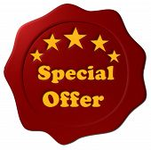 Special Offer (Red Seal Cutout)