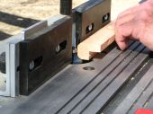 Woodworking with a router table