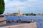 Peter and Paul Fortress, Neva river