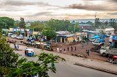 Evening In Awasa City