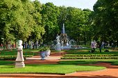 Summer Garden of Saint Petersburg