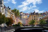 Autumn view of Karlovy Vary
