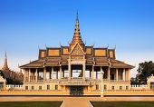 Royal Palace And Silver Pagoda (the Throne Hall), Phnom Penh, No.1 Attractions In Cambodia.