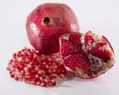 Pomegranate: Whole Fruit, Pith and Arils
