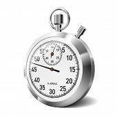 Stopwatch. Vector.