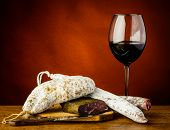 Red Wine And Sausages