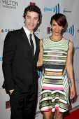 LOS ANGELES - APR 12:  James Frain, Marta Cunningham at the GLAAD Media Awards at Beverly Hilton Hotel on April 12, 2014 in Beverly Hills, CA