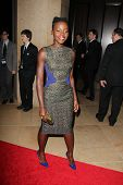 LOS ANGELES - APR 12:  Lupita Nyong'o at the GLAAD Media Awards at Beverly Hilton Hotel on April 12,