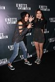 LOS ANGELES - OCT 3:  Bailee Madison, Caitlin Carver at the Knott's Scary Farm Celebrity VIP Opening  at Knott's Berry Farm on October 3, 2014 in Buena Park, CA