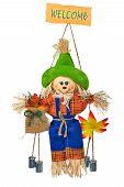 Comic Scarecrow