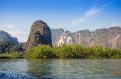 Idyllic Island With Mangrove Forest  Of Phang Nga National Park