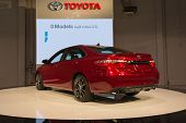 2015 Toyota Camry 2015 At The Orange County International Auto Show