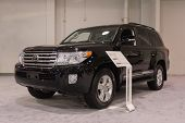 Toyota Land Cruiser 2015 At The Orange County International Auto Show