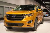 2015 Ford Edge At The Orange County International Auto Show